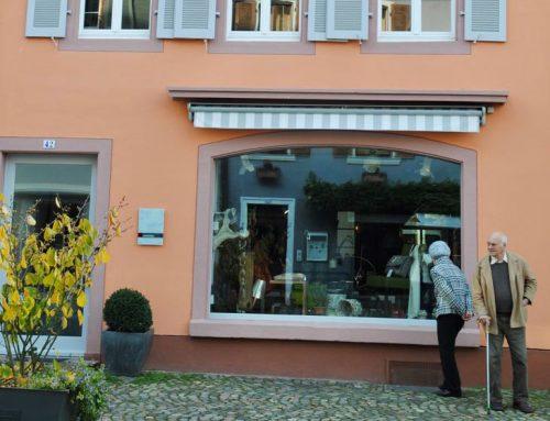 Wohn- und Geschäftshaus in der Altstadt von Staufen