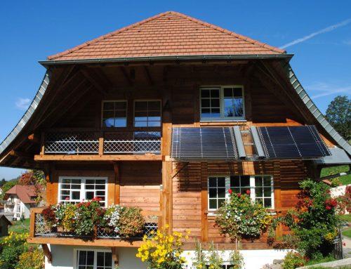Neues Schwarzwaldhaus in Münstertal mit modernen und traditionellen Elementen